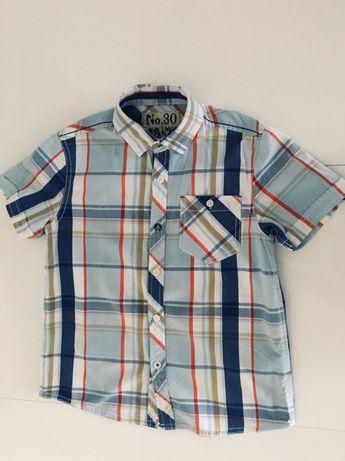 Koszula chłopięca z krótkim rękawkiem