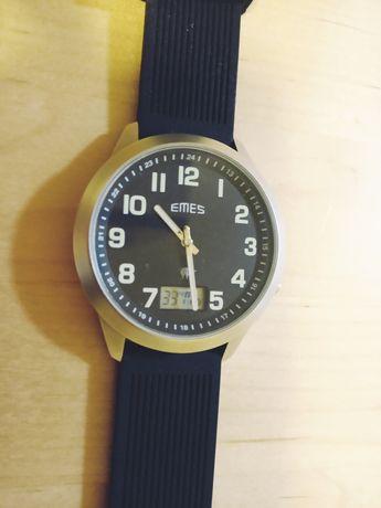 Zegarek EMES z napędem radiowym męski duża koperta