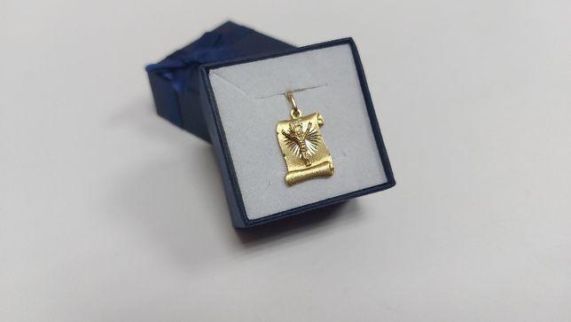 Złoty wisiorek z Panem Jezusem złoto 585