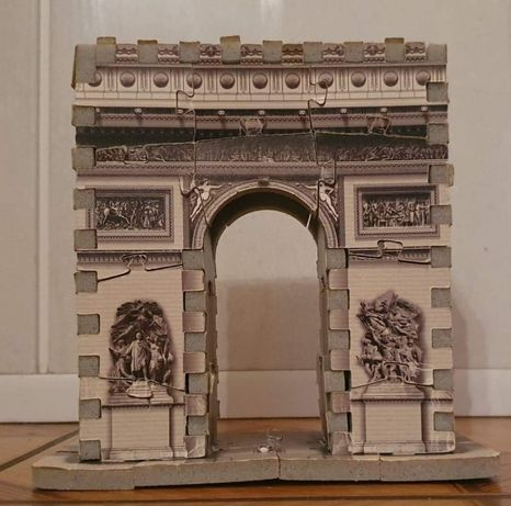 Puzzle 3D Łuk Triumfalny