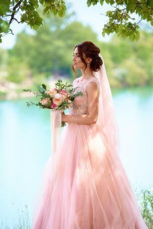 Свадебное выпускное вечернее платье Jovani S 34р (42р)