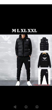 Komplet męski 3 cz. M L XL XXL