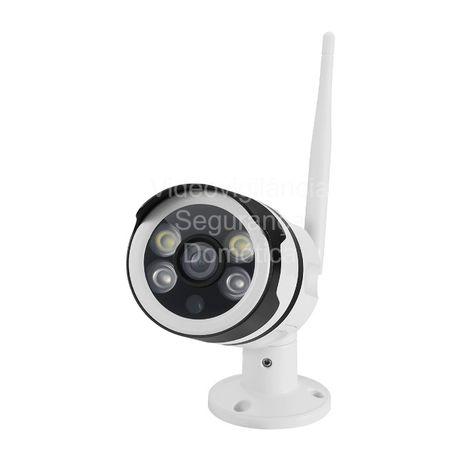 Câmara Vigilância*FullHD*Microfone*Coluna de Som*Visão Noturna a CORES