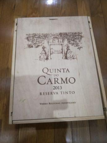 Caixa de madeira Quinta do Carmo