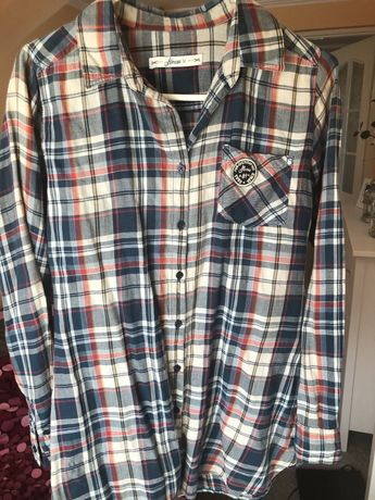 Koszula w kratę house rozmiar M