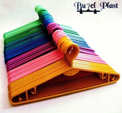 Wieszaki ubraniowe- kolorowe
