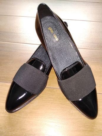 Buty Gino Rossi czarne rozmiar 38, stan idealny