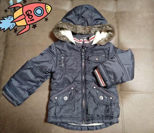 Куртка детская демисезонная тёплая!