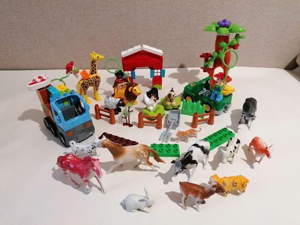 Лего конструктор ферма