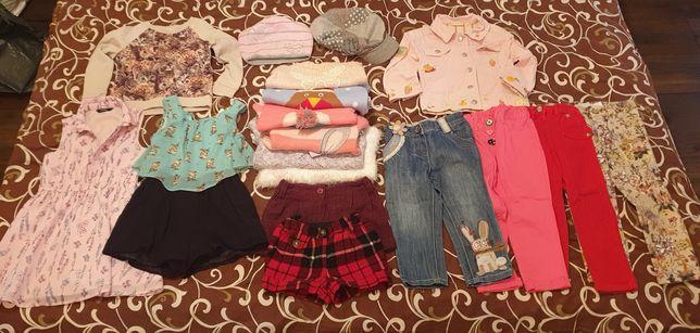 Пакет вещей для девочки в отличном и идеальном состоянии, 3-5 лет