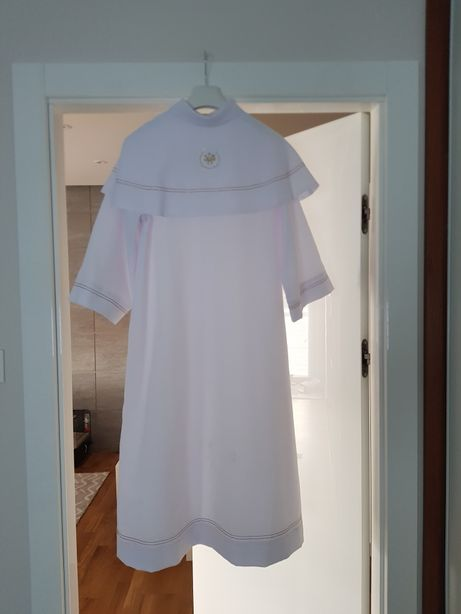 Alba komunijna z sukienką rozmiar 136