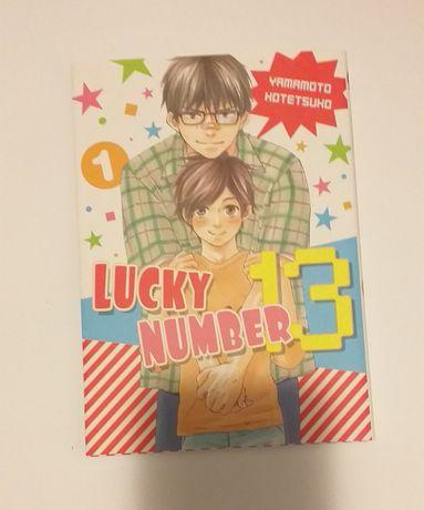 Manga Lucky Number 13 tom 1