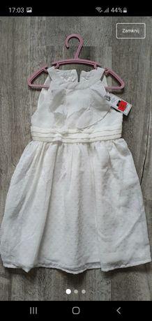 Biała sukienka Smyk