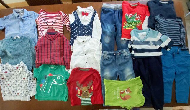 Ubranka dla chłopca r. 92