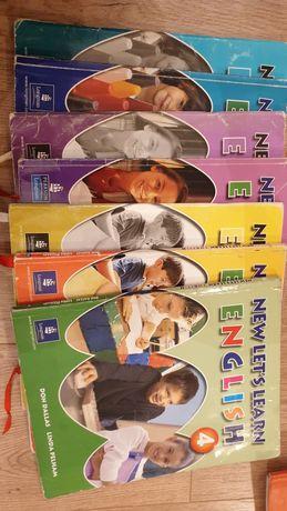 New let's learn English 1,2,3,4 учебники по английскому языку