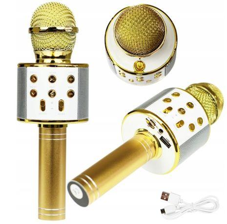 Mikrofon Karaoke Bezprzewodowy Głośnik różne kolory !!
