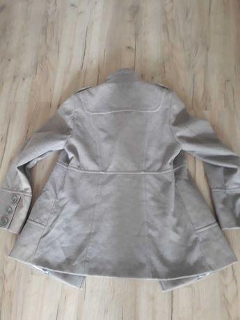 Szary grafitowy płaszcz płaszczyk Wallis rozmiar 42 XL