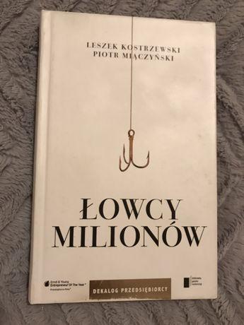 Leszek Kostrzewski, Piotr Miączyński Łowcy milionów twarda oprawa
