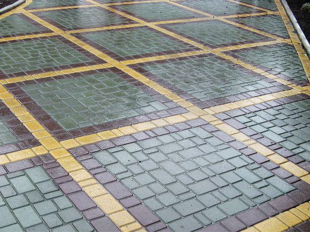 Благоустройство: укладка тротуарной плитки, озеленение и пр.