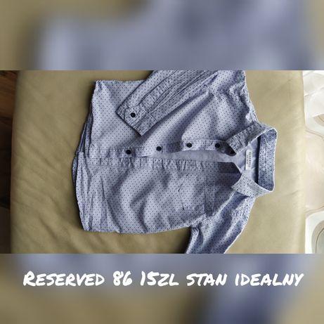 Koszula Reserved 86 chłopięca
