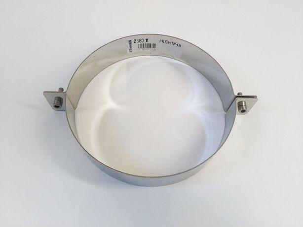Abraçadeira em Inox para tubo de chaminés de lareira ou similar - Novo