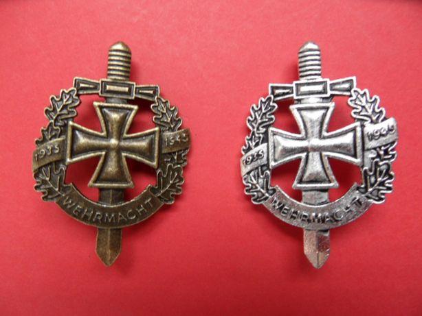 rzesza niemiecka wpinka II wojna światowa miecz krzyż wehrmacht
