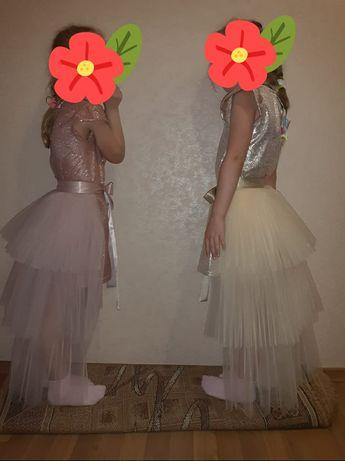 Платье нарядное (можна для двойни )