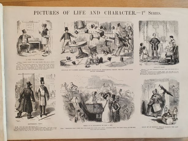 John Leech's Pictures of Life nd Character