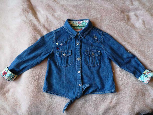 Koszula biedroneczki 98cm idealny stan