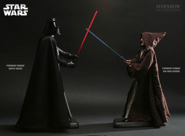 Sideshow Darth Vader / Obi-Wan Kenobi Premium Format