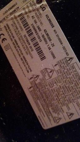 Telewizor LED 42 cale LG cienki