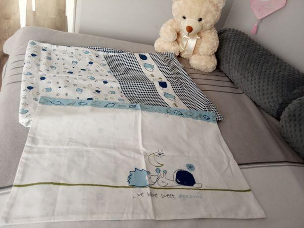 Tchibo nowa pościel z bawełny organicznej 100x135 dla chłopca
