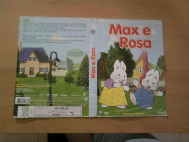 Folha de Capa DVD Max e a Rosa Original