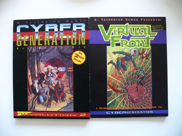 Cyber Generation - Evolve Or Die. Revolution 2 + Virtual Front '95 RPG