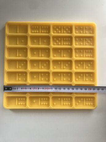 Forma silikonowa domino