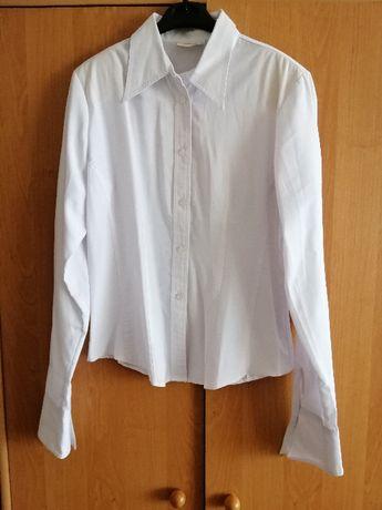 Продам белую блузу для школы и не только, р. 46