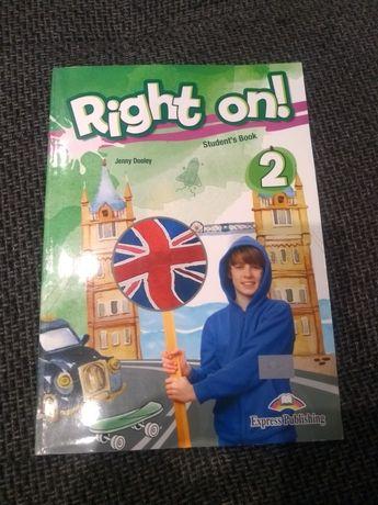 Right on książka do angielskiego