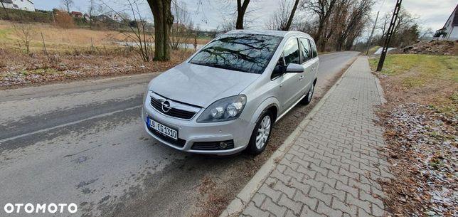 Opel Zafira Automat NAVI czujniki park podgrz fotele tempomat skóra alufelgi
