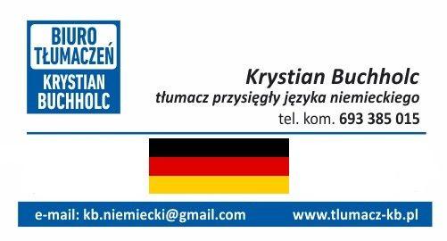 Tłumacz przysięgły języka niemieckiego, tanio, rzetelnie, niemiecki