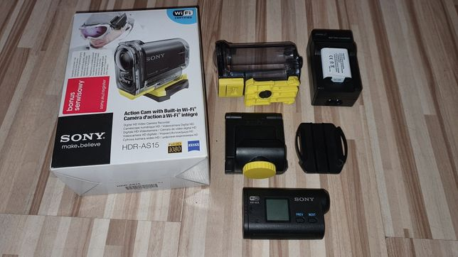 Kamera sony action cam hdr-as15