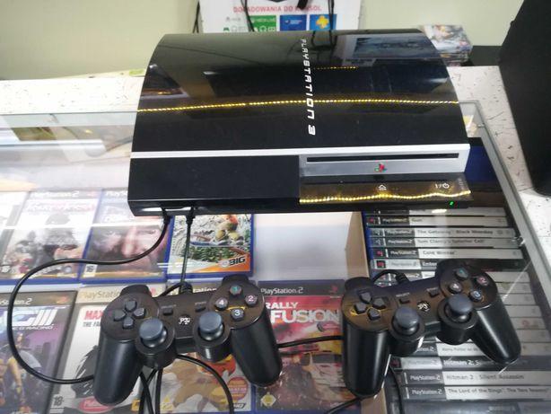 Konsola PlayStation 3 Fat 80Gb 2 pady (Ps3) stan idealny + wymianna