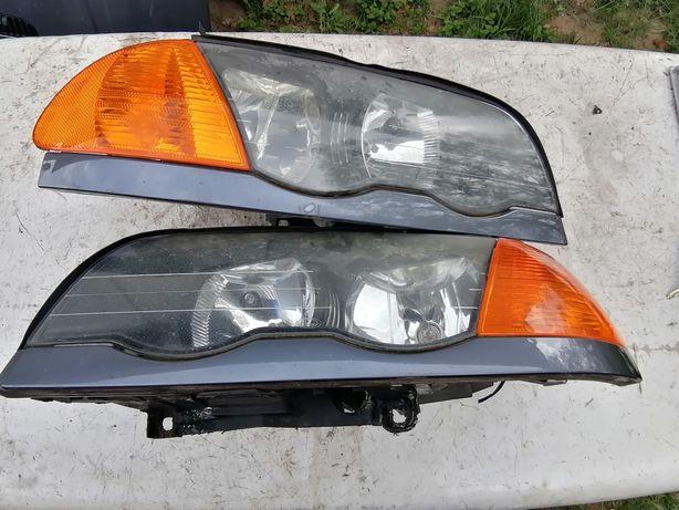 Lampa lewa przód BMW E46 przedlift