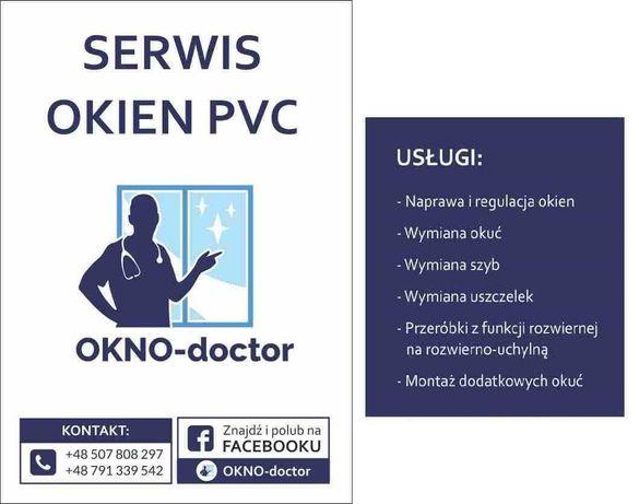 Serwis okien Okno-Doctor Niepolomice WIeliczka Bochnia