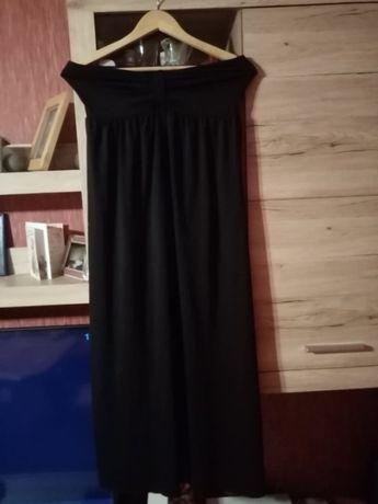 Sukienka NEXT czarna długa bez rękawów, pięknie opina biust rozm. 8/