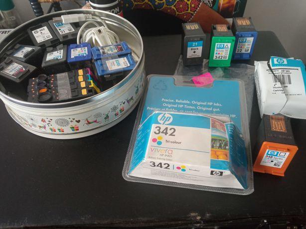 Tinteiros HP, Novos e para Reciclagem