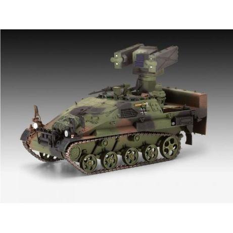 Модель Revell 03089 Wiesel 2 LeFlaSys Ozelot военная машина
