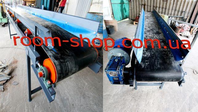 Ленточный конвейер, транспортер, погрузчик, стрічковий конвеєр, 400 мм