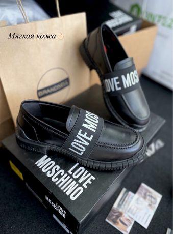 Лоферы мокасины Love Moschino Италия Karl Lagerfeld Calvin Klein