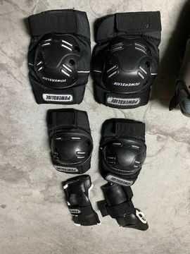 Proteção para skate e patins em linha