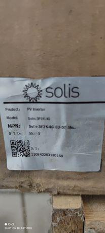 Inwerter Solis 3P3K-4G nowy w pudełku sprzedam.